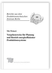 Buch: Vorgehensweise für Planung und Betrieb energieeffizienter Produktionssysteme