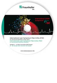 Buch: Internationales Laser-Symposium Fiber and Disc (FISC 2010)