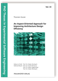 Buch: An Aspect-Oriented Approach for Improving Architecture Design Efficiency