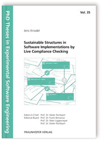 Buch: Sustainable Structures in Software Implementations by Live Compliance Checking