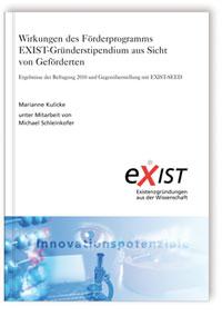 Buch: Wirkungen des Förderprogramms EXIST-Gründerstipendium aus Sicht von Geförderten