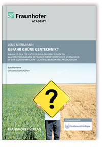 Buch: Gefahr grüne Gentechnik?