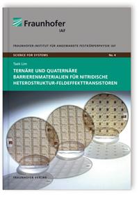 Buch: Ternäre und quaternäre Barrierenmaterialien für nitridische Heterostruktur-Feldeffekttransistoren