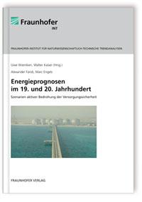Buch: Energieprognosen im 19. und 20. Jahrhundert