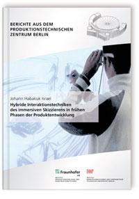 Buch: Hybride Interaktionstechniken des immersiven Skizzierens in frühen Phasen der Produktentwicklung
