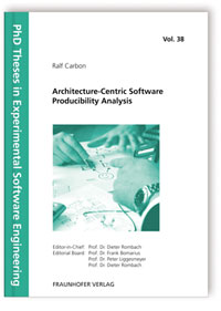 Buch: Architecture-Centric Software Producibility Analysis