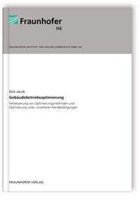 Buch: Gebäudebetriebsoptimierung