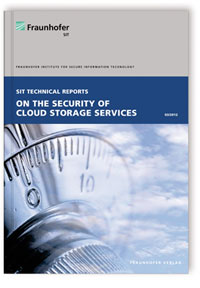 Buch: On the Security of Cloud Storage Services
