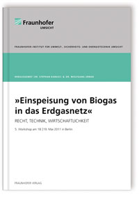 Buch: Einspeisung von Biogas in das Erdgasnetz