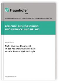 Buch: Nicht invasive Diagnostik in der Regenerativen Medizin mittels Raman-Spektroskopie