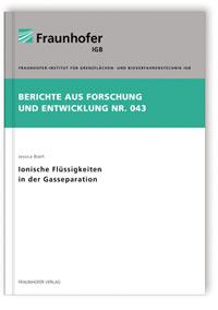 Buch: Ionische Flüssigkeiten in der Gasseparation