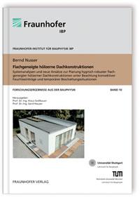 Buch: Flachgeneigte hölzerne Dachkonstruktionen