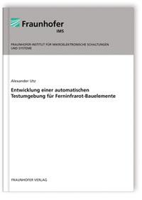 Buch: Entwicklung einer automatischen Testumgebung für Ferninfrarot-Bauelemente