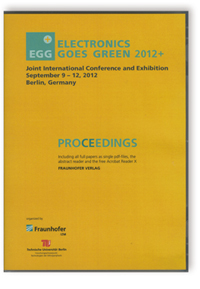 Buch: Electronics Goes Green 2012+ - . Taking Green to the Next Level