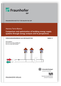 Buch: Comparison and optimization of building energy supply systems through exergy analysis and its perspectives