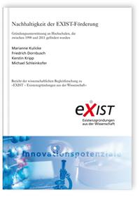 Buch: Nachhaltigkeit der EXIST-Förderung