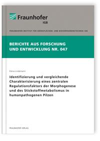 Buch: Identifizierung und vergleichende Charakterisierung eines zentralen Regulationsfaktors der Morphogenese und des Stickstoffmetabolismus in humanpathogenen Pilzen