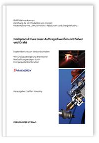 Buch: Hochproduktives Laser-Auftragschweißen mit Pulver und Draht