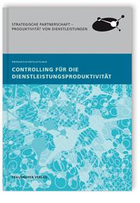 Buch: Controlling für die Dienstleistungsproduktivität