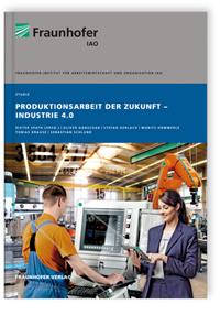 Buch: Produktionsarbeit der Zukunft - Industrie 4.0