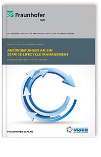 Buch: Anforderungen an ein Service Lifecycle Management