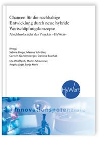 Buch: Chancen für die nachhaltige Entwicklung durch neue hybride Wertschöpfungskonzepte