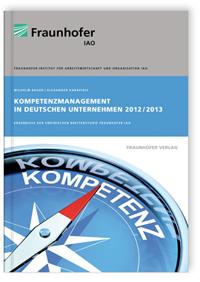 Buch: Kompetenzmanagement in deutschen Unternehmen 2012/2013