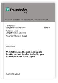 Buch: Werkstoffliche und keramtechnologische Aspekte von funktionalen Beschichtungen auf hochporösen Keramikträgern