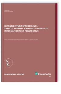 Buch: Dienstleistungsforschung - Trends, Themen, Entwicklungen aus internationaler Perspektive