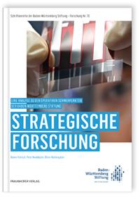 Buch: Strategische Forschung