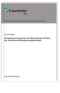 Buch: Permeationsmesssysteme für Wasserdampf auf Basis der Diodenlaser-Absorptionsspektroskopie