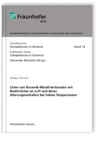 Buch: Löten von Keramik-Metall-Verbunden mit Reaktivloten an Luft und deren Alterungsverhalten bei hohen Temperaturen