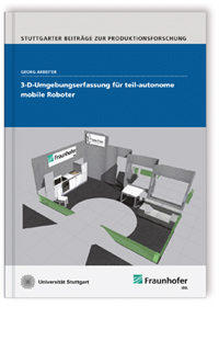 Buch: 3-D-Umgebungserfassung für teil-autonome mobile Roboter