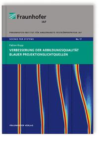 Buch: Verbesserung der Abbildungsqualität blauer Projektionslichtquellen