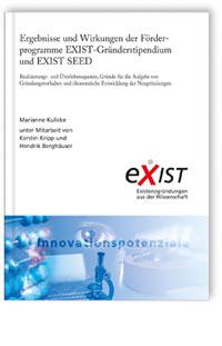 Buch: Ergebnisse und Wirkungen der Förderprogramme EXIST-Gründerstipendium und EXIST SEED