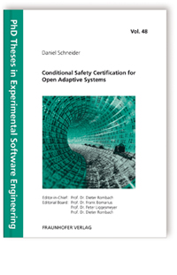 Buch: Conditional Safety Certification for Open Adaptive Systems