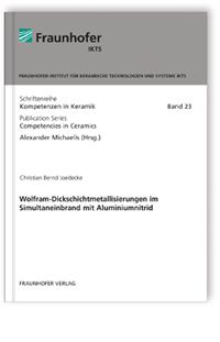 Buch: Wolfram-Dickschichtmetallisierungen im Simultaneinbrand mit Aluminiumnitrid
