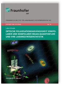 Buch: Optische Polarisationsabhängigkeit semipolarer und nonpolarer InGaN-Quantenfilme und ihre Ladungsträgerstatistik
