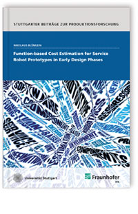 Buch: Function-based Cost Estimation for Service Robot Prototypes in Early Design Phases