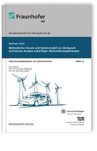 Buch: Methodischer Ansatz und Systemmodell zur ökologisch-technischen Analyse zukünftiger Elektrofahrzeugkonzepte