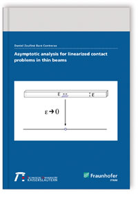 Buch: Asymptotic analysis for linearized contact problems in thin beams