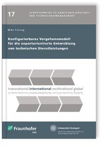 Buch: Konfigurierbares Vorgehensmodell für die exportorientierte Entwicklung von technischen Dienstleistungen
