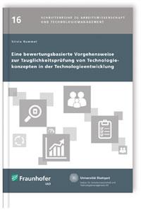 Buch: Eine bewertungsbasierte Vorgehensweise zur Tauglichkeitsprüfung von Technologiekonzepten in der Technologieentwicklung
