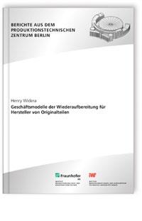 Buch: Geschäftsmodelle der Wiederaufbereitung für Hersteller von Originalteilen