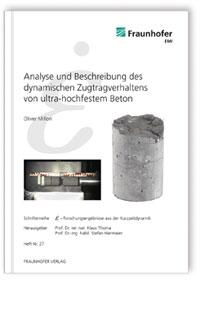 Buch: Analyse und Beschreibung des dynamischen Zugtragverhaltens von ultra-hochfestem Beton