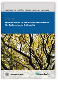 Buch: Entwurfsmuster für den Aufbau von Baukästen für das Funktionale Engineering