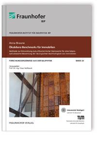 Buch: Ökobilanz-Benchmarks für Immobilien