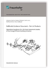 Buch: EeBGuide Guidance Document Part A: Products