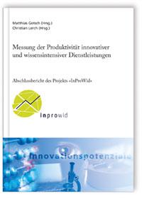Buch: Messung der Produktivität innovativer und wissensintensiver Dienstleistungen