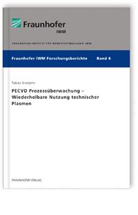 Buch: PECVD Prozessüberwachung - Wiederholbare Nutzung technischer Plasmen